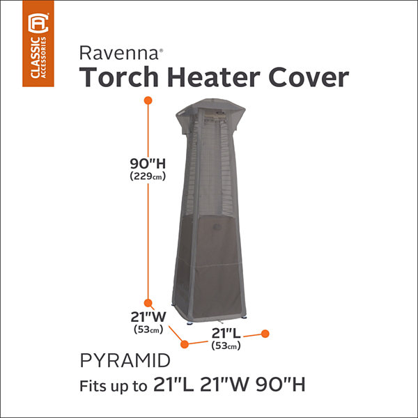 Classic Accessories® Ravenna Pyramid Torch Heater Cover