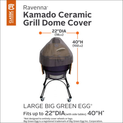 Classic Accessories® Ravenna Large Ceramic Grill Dome Cover