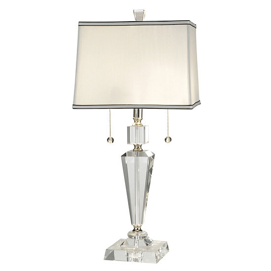 Dale Tiffany Deville Crystal Crystal Table Lamp