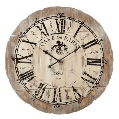 Distressed Café de Paris Wall Clock