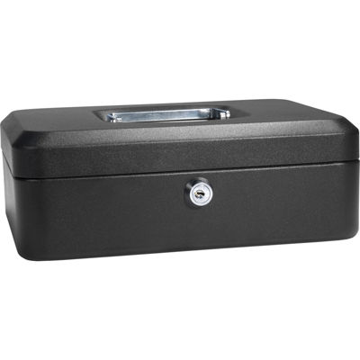 "Barska® 10"" Cash Box with Key Lock"