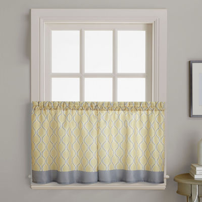 Morocco 2-Pack Rod-Pocket Window Tiers