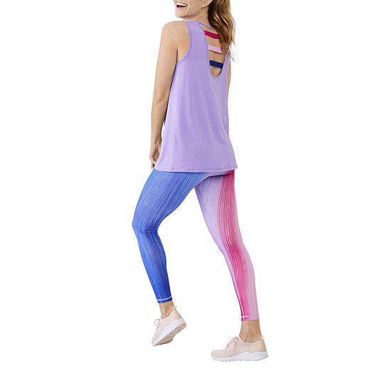 Xersion Ombre Legging Womens Mid Rise Skinny Legging