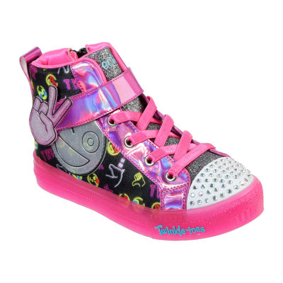 Skechers Shuffle Brights Little Kid/Big Kid Girls Pull-on Sneakers