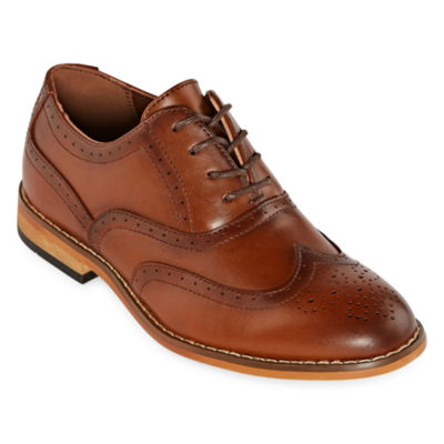 Stacy Adams Little Kid/Big Kid Boys Dunbar Oxford Shoes Lace-up Wing Tip