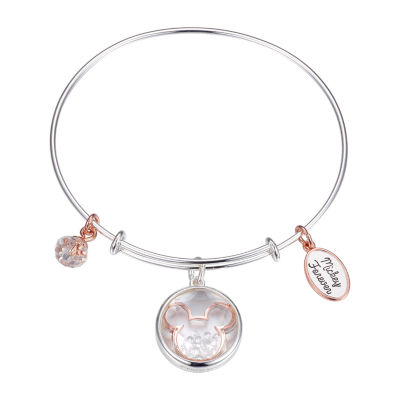 Disney Classics Crystal Mickey Mouse Bangle Bracelet