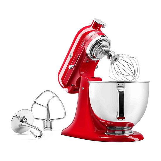 KitchenAid® 100 Year Limited Edition Queen of Hearts 5 Quart Tilt-Head  Stand Mixer - KSM180QHSD