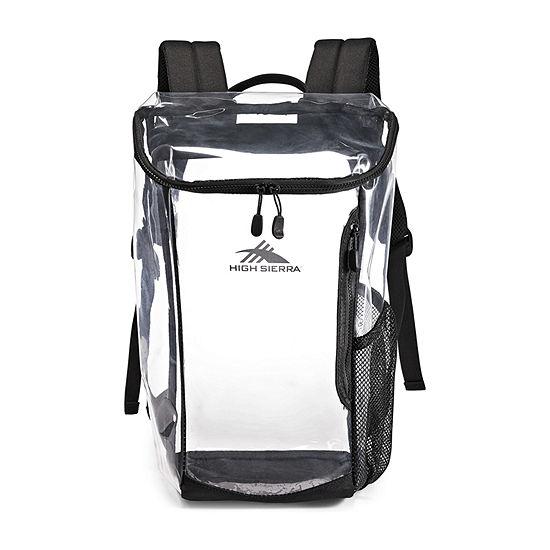 High Sierra Clear Toploader Backpack