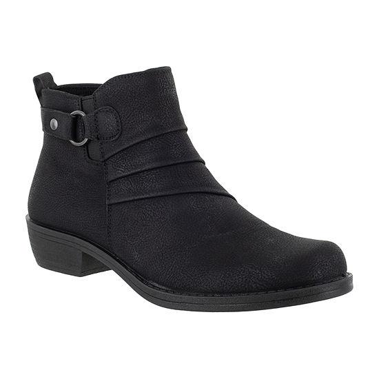 Easy Street Womens Shanna Booties Block Heel