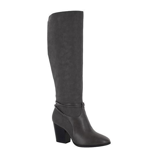 Easy Street Womens Premium Dress Boots Block Heel