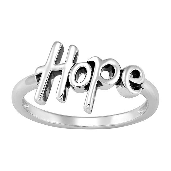 Forever Inspired Womens Sterling Silver Cocktail Ring
