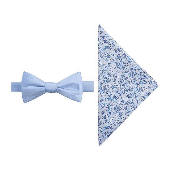 J.Ferrar Floral Bow Tie Set