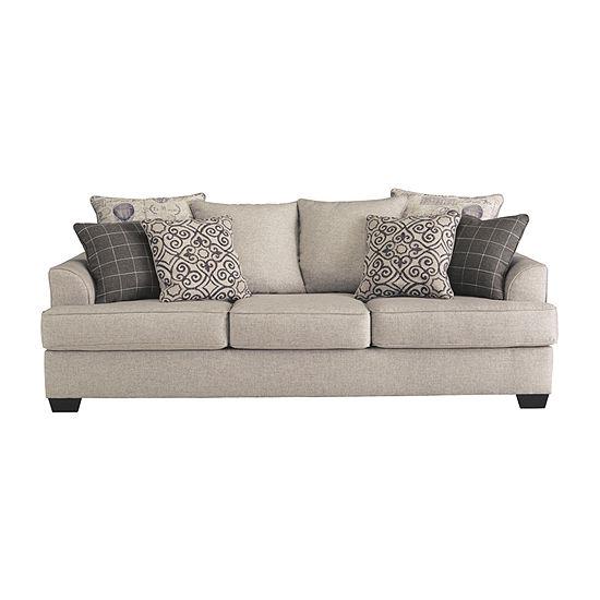 Signature Design by Ashley Velletri Pad-Arm Sofa
