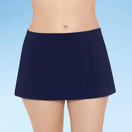 Sonnet Shores Womens Swim Skirt, 14 , Blue