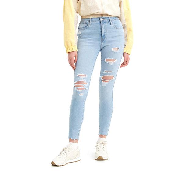 Levi/'s Women/'s HR Shorts soft white size us 12 w 31
