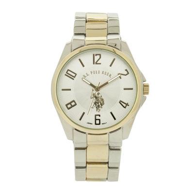 U.S. Polo Assn.® Mens Two-Tone Watch