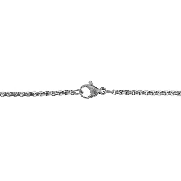 Mens 3.5mm Stainless Steel Box Chain