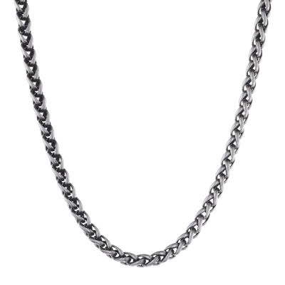 Mens Stainless Steel Wheat Chain