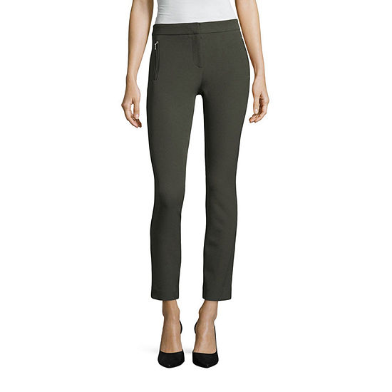 Worthington Luxe Stretch Ankle Pant