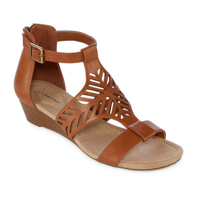 St. John's Bay Nikita Womens Wedge Sandals
