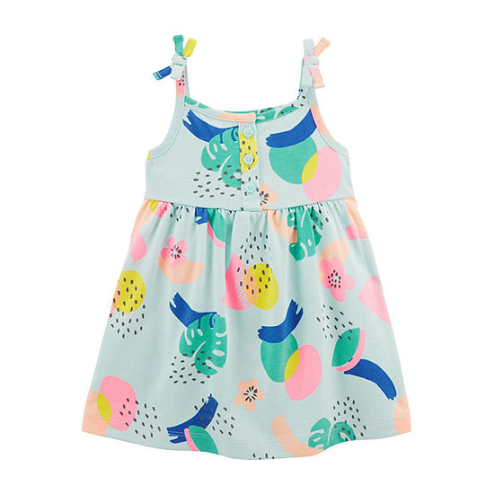 Carter's - Baby Girls 2-pc. Sleeveless A-Line Dress