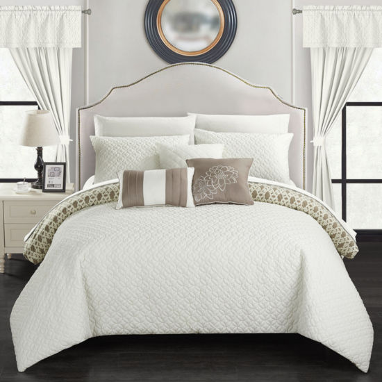 Chic Home Sigal 20pc Comforter Set Jcpenney