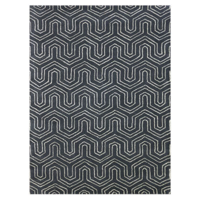 Amer Rugs City AB Hand-Tufted Wool and Viscose Rug