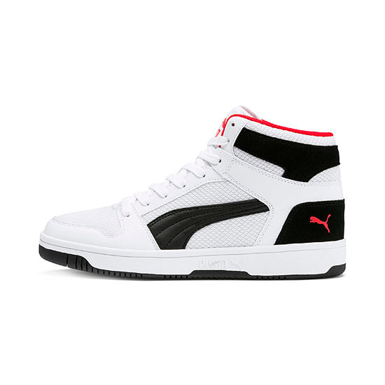 Puma Rebound Mens Basketball Shoes Lace Up