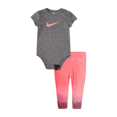 Nike 2-pc. Bodysuit Set Girls