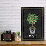 Courtside Market Apple Topiary Canvas Art