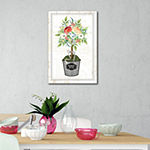 Courtside Market Floral Topiary Canvas Art
