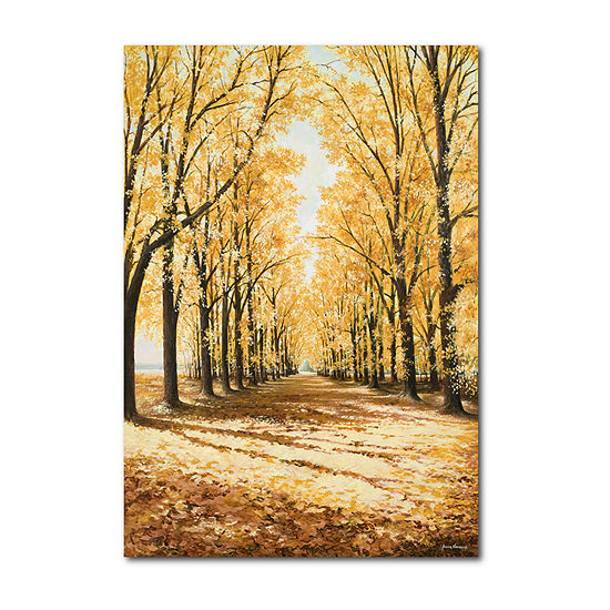Courtside Market Yellow Falls Catherdral Canvas Art