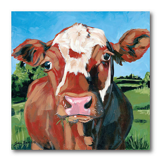 Courtside Market Henry The Hereford Canvas Art