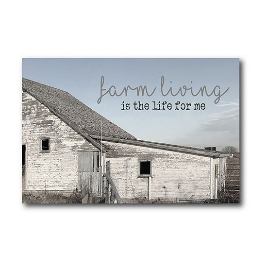 Courtside Market Farm Living Canvas Art