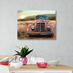 Courtside Market Old Truck Canvas Art