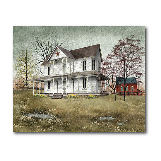 Courtside Market April Showers Canvas Art