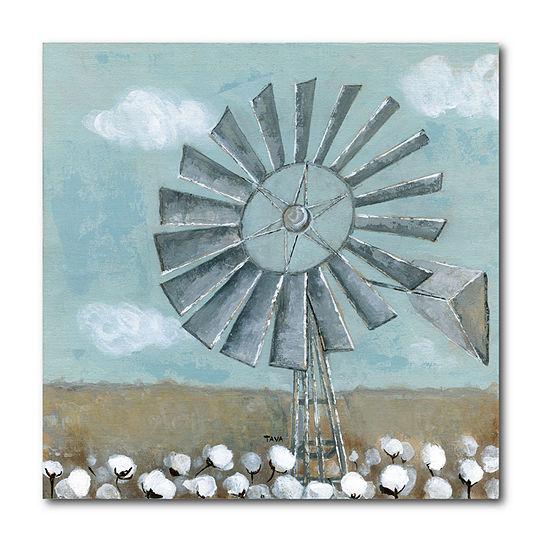 Courtside Market Mill Creek Windmill Canvas Art