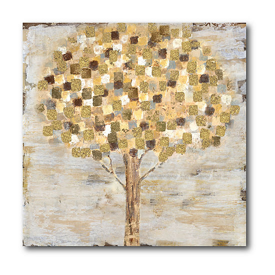 Courtside Market Golden Tree Canvas Art