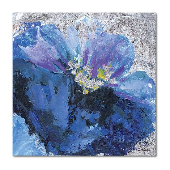 Courtside Market Purple Flowers Canvas Art