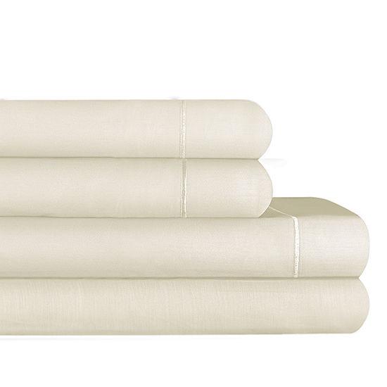 Auraa Smart 1200tc Sateen Wrinkle Resistant Sheet Set