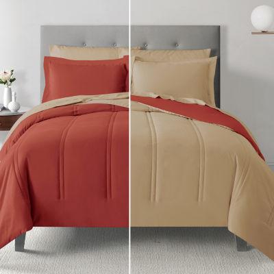 Microfiber Anti Bacterial Polygiene Reversible Comforter Set