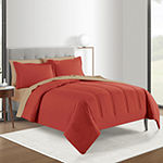 Microfiber Anti Bacterial Polygiene Reversible Comforter Set