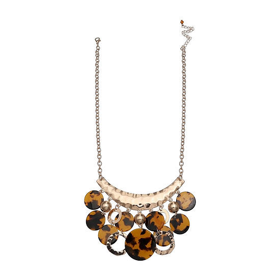 Mixit Shakey Womens Beaded Necklace