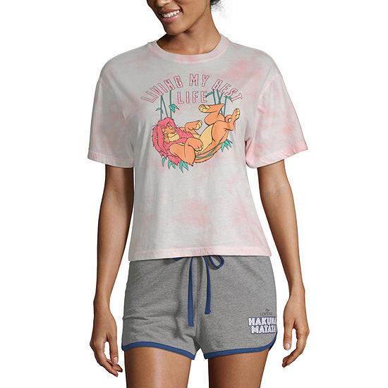 Womens Crew Neck Short Sleeve T Shirt Juniors