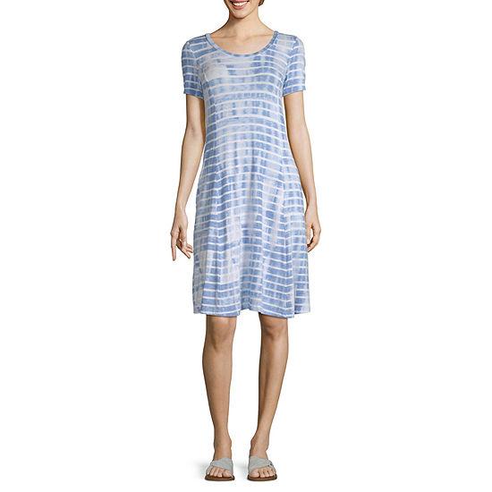 Liz Claiborne Scoop Pocket Dress - Tall