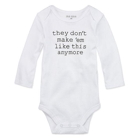Okie Dokie Unisex Bodysuit-Baby