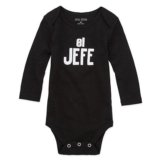 Okie Dokie El Jefe Unisex Bodysuit-Baby