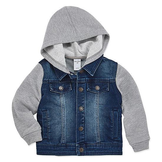 Okie Dokie Boys Denim Jacket-Toddler