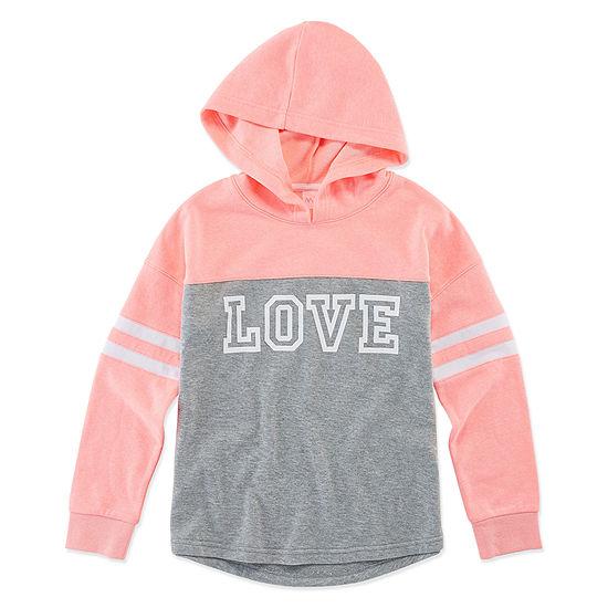 Xersion Girls Cuffed Sleeve Hoodie - Preschool / Big Kid