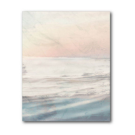 Courtside Market Ocean Flared Canvas Art